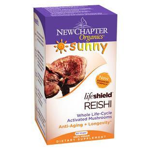 免运费!包美国直邮New Chapter灵芝胶囊提高免疫增强活力延年益寿