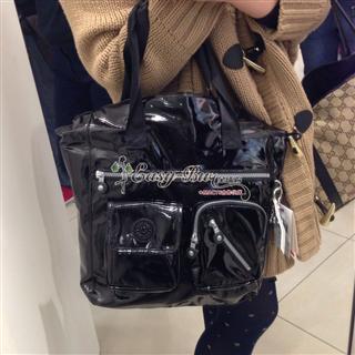 依美尚品 kipling 吉普林TM5244 斜挎包手提包漆皮图层