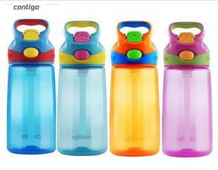 Contigo康迪克学生 儿童 防漏 吸管水杯 水壶