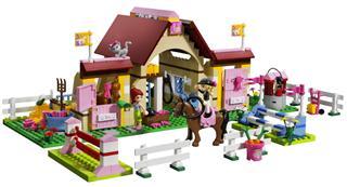乐高 LEGO 3189 Friends 爱心湖马廊NEW 2012