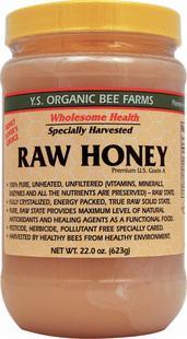 免运费!包美国直邮 Y.S.YS Organic 100%天然有机蜂蜜22oz 623g