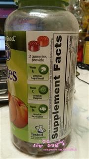 美国原装代购VitaFusion成人小熊糖多种复合维生素 250粒