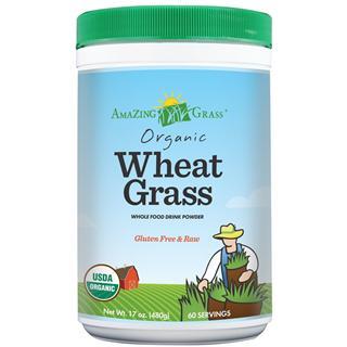 【美国护航直邮】 Amazing wheat grass 有机小麦苗粉 小麦草粉 480g