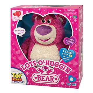 美国正版 玩具总动员3 草莓熊 毛绒公仔 发声收藏限量版 正版证书
