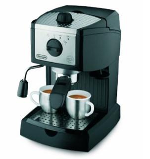 DeLonghi 德龙 EC155 泵压意式特浓家用半自动咖啡机