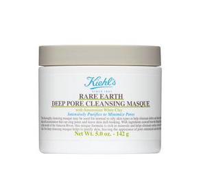 美国代购 契尔氏Rare Earth Pore Masque亚马逊白泥净致毛孔面膜
