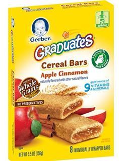美国 GERBER 嘉宝 软馅夹心谷物饼(含9种维生素和矿物质) 156g/盒