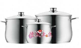 WMF Diadem Plus 福腾宝汤锅套装 3件套  货号:0730036040