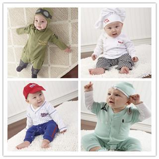 美国直邮顶级Baby Aspen宝宝连体衣礼盒套装 新生套装礼盒 0-6个月