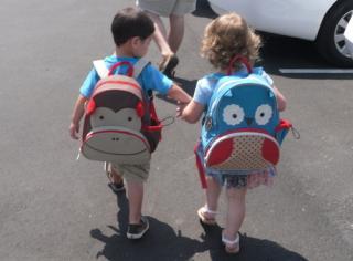 美国直邮  SKIP HOP可爱动物园系列 儿童书包 双肩背包