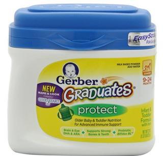 【两罐包邮价】美国 GERBER 嘉宝 二段增强免疫力奶粉 623g/桶