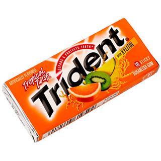 美国现货换购专区 美国最著名口香糖 TRIDENT 水果味