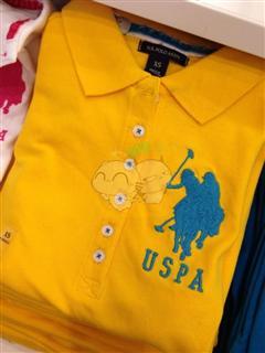 美国代购USPA Polo 女士T恤 大马标 多色