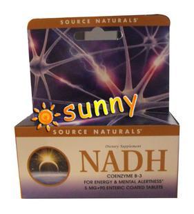 免运费包美国直邮线粒体素Co-E1 enada nadh 5mg 90片 还原性辅酶