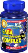 美国直邮Puritan 复合GABA氨基丁酸舒缓神经抗疲劳