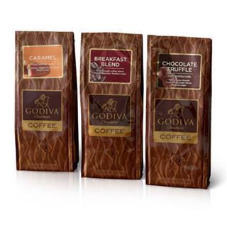 情人节礼物 GODIVA歌帝梵 浓情咖啡套装3组装