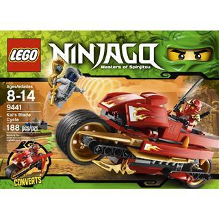 【超级奶爸】美国直邮 乐高/LEGO 9441 幻影忍者/凯的刀锋转轮机车