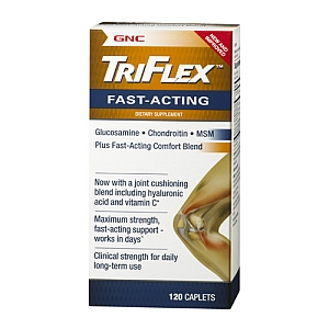 免运费包美国直邮GNC维骨力TriFlex见效快加强型 保护改善关节炎