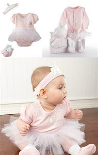 2013年新品 美国代购正品Baby Aspen宝宝公主服套装 新生儿套装