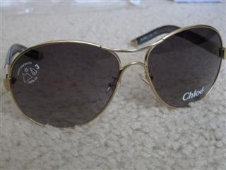 美国正品代购 Chloe 克洛伊 CL2207 Aviator 太阳镜 4色美国直发