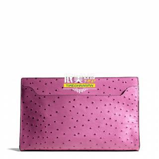 美国代购 COACH 49850 LEGACY 莱格西系列手拿女包粉嫩色
