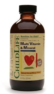 美国 Childlife 婴幼儿童儿综合维生素矿物质补充液 237ml/瓶