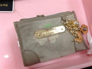 美国代购 Juicy couture YSRUO046 零钱包卡包
