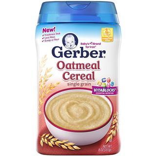 【美国直邮】Gerber嘉宝一段燕麦米粉227g