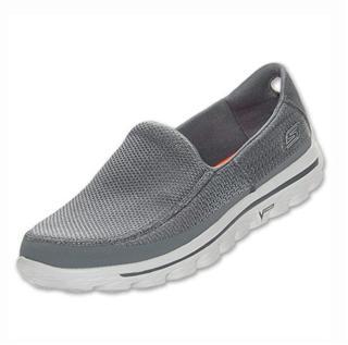 美国skechers斯凯奇GOwalk2超轻健步一脚蹬 男 时尚休闲懒人鞋