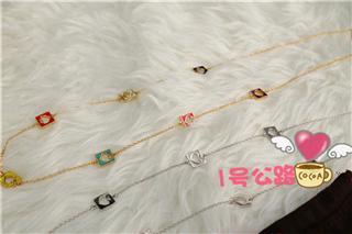 超值:kate spade 超美长项链 金彩色/银色 两色