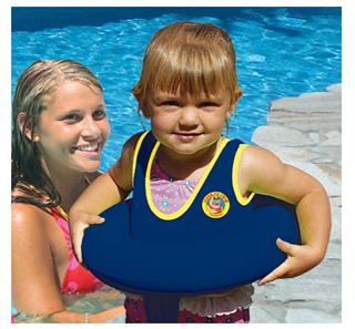 Poolmaster Learn-To-Swim 超安全不会逃跑衣服游泳圈3-6岁