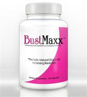 美国直邮 全球顶级BUSTMAXX 女性天然草本丰胸胶囊 60粒安全无反弹