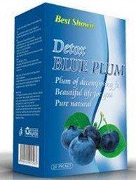 美国直邮detox 减肥天然水果糖--蓝梅排毒 瘦身减肥排毒蓝莓通便