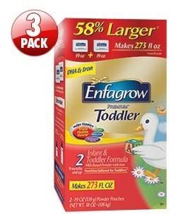 美国直邮 美赞臣金尊二段婴幼儿奶粉 1080g*3盒 大包装