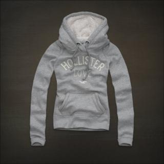 hollister(A&F 副牌)小海鸥女士卫衣毛hoodie