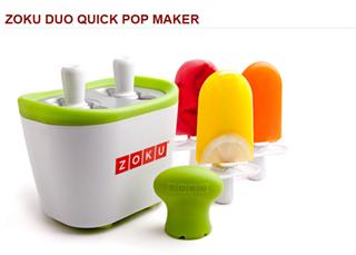 ZOKU QuickPopMaker无需插电7分钟DIY雪糕机2支 多色