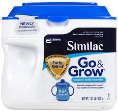 美国直邮 Similac 美版雅培奶粉雅培金盾二段624g*3罐