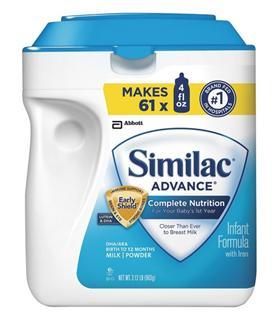 (美国直邮)雅培Similac金盾1段 一段奶粉964g 0-12个月 1盒