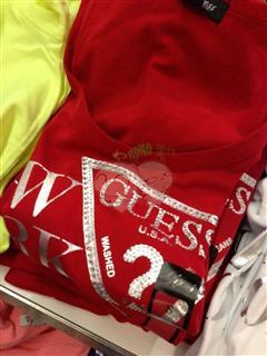 美国代购Guess/盖尔斯 女士T恤 二件起拍每件199 单件229