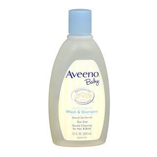 美国直邮 Aveeno baby婴儿洗发沐浴露2合1天然燕麦无泪配方 354ml