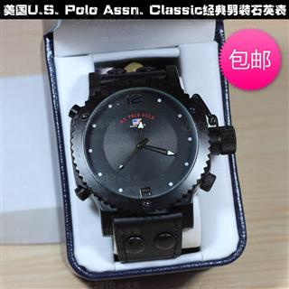 美国U.S. Polo Assn. Classic经典男装石英腕表手表特价包邮