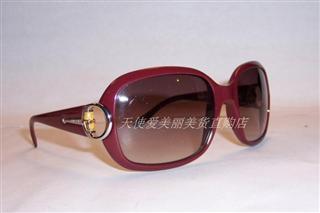 美国正品代购 GUCCI古琦 GG 3132/S 竹节墨镜太阳镜IP0暗红 直邮