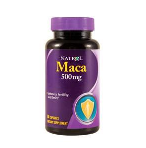 免运费包美国直邮Natrol马卡MACA秘鲁玛卡增强体力提高性能力60粒