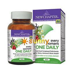免运费!美国直邮New Chapter有机女性每日一片营养素 综合维生素