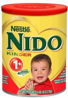免运费!包美国直邮 雀巢Nido儿童奶粉 Nido kinder 1+ 含益生元 1600g