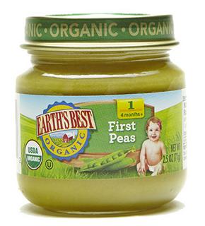 【美国直邮】Earths Best地球最好 世嘉婴儿果蔬1段辅食 多种口味