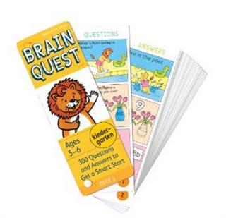 Brain Quest 趣味英语学习卡片书--每套2册