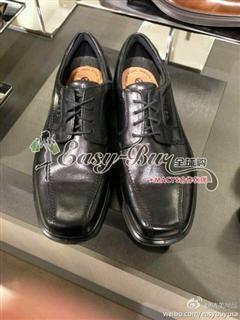 依美尚品ECCO 男士系带来商务皮鞋