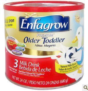 美国直邮 美赞臣Enfagrow3段/三段 原味金尊奶粉