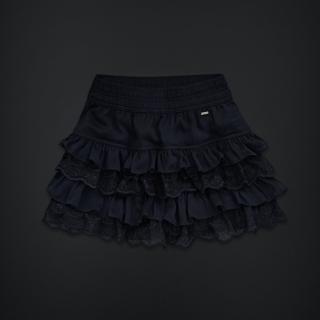 美国代购AF副牌Gilly Hicks女式多层蕾丝短裙 S号